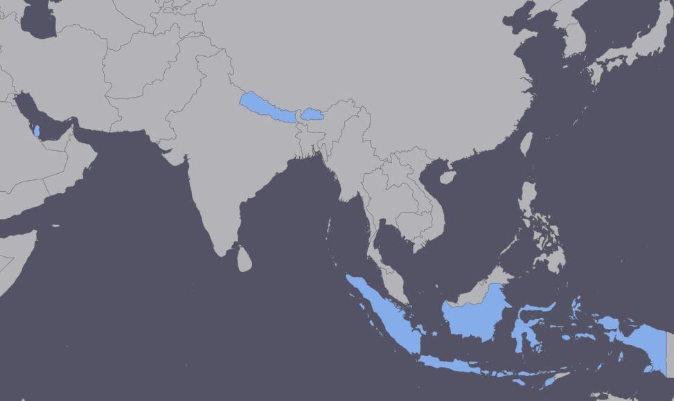 Asia Visa Free
